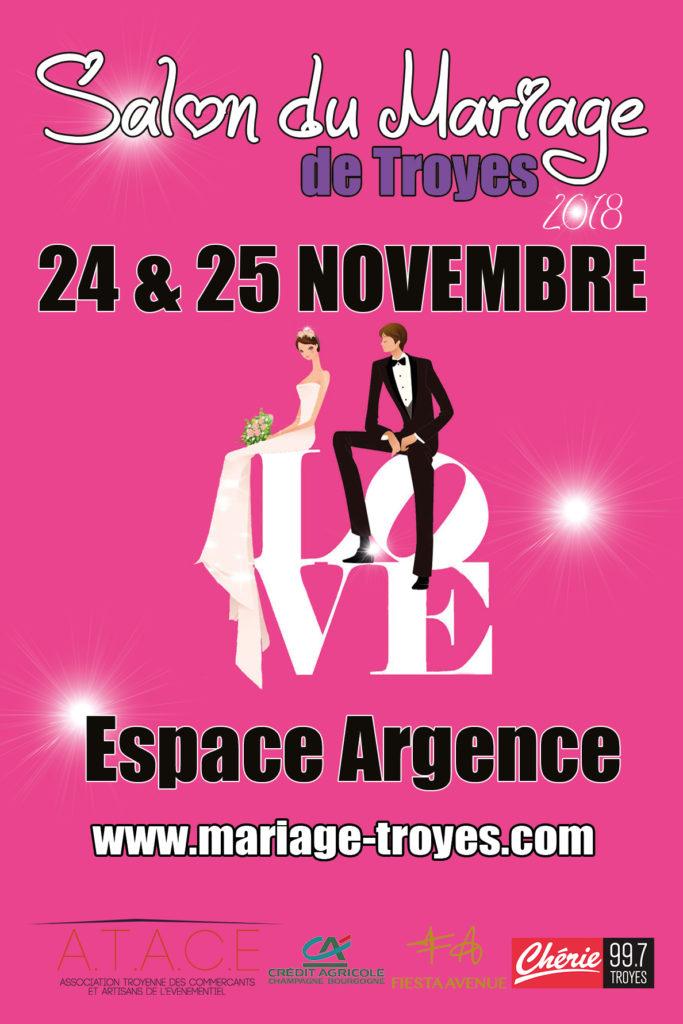 Salon du mariage Troyes 2018